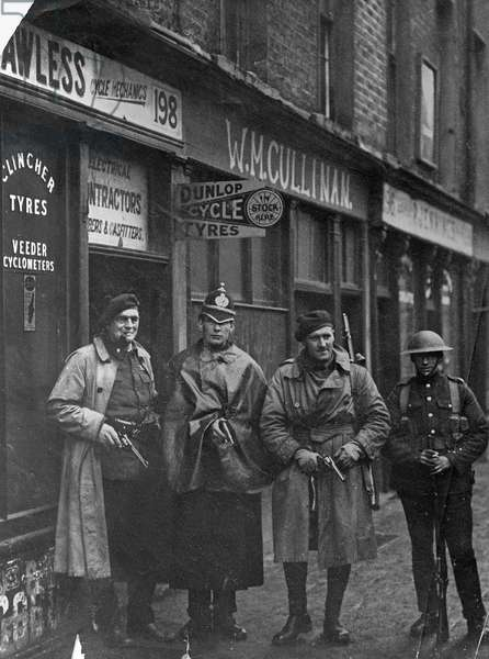British security forces, c.1921 (gelatin silver print)