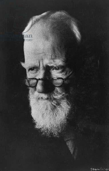 George Bernard Shaw, c.1925 (gelatin silver print)