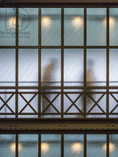 The Orsay Museum. Paris. France - Exterior view of the glass and steel bridge - Musee d'Orsay, Paris - Photography 2017