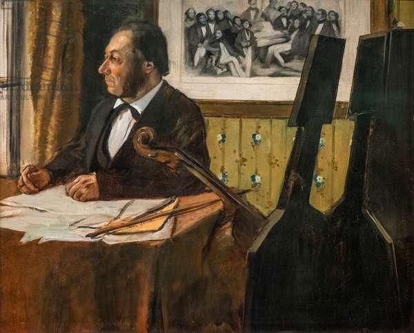The cellist Louis-Marie Pilet. Around 1868-1869. Oil on canvas.
