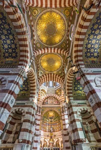 Basilica of Notre Dame de la Garde (Notre-Dame-de-la-Garde), Marseille