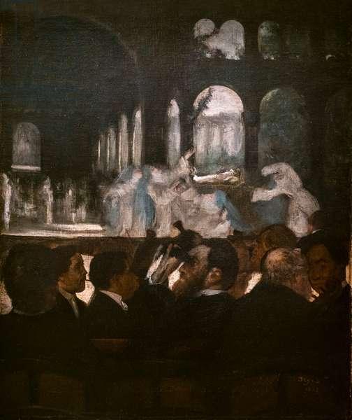 Ballet of Robert the Devil. 1871-1872. Oil on canvas.