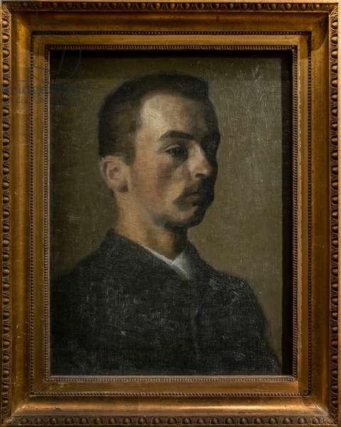 Self-portrait, 1890 (oil on canvas)