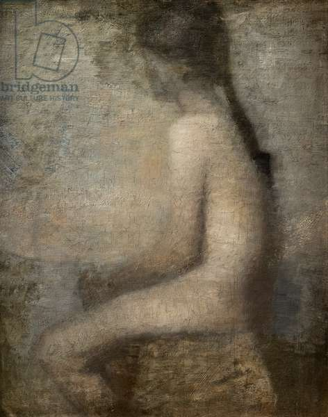 Model, 1886 (oil on canvas)