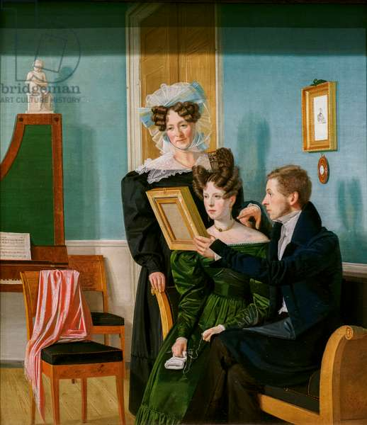 The Raffenberg Family, 1830 (oil on canvas)