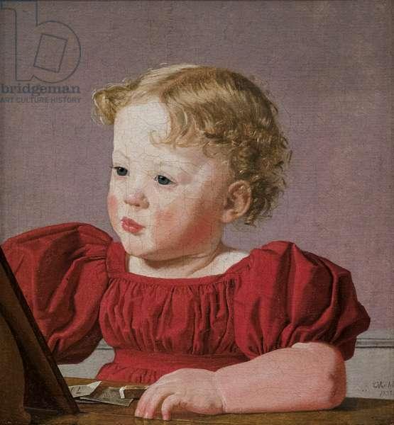 Ida Thiele as a Child, 1832 (oil on canvas)