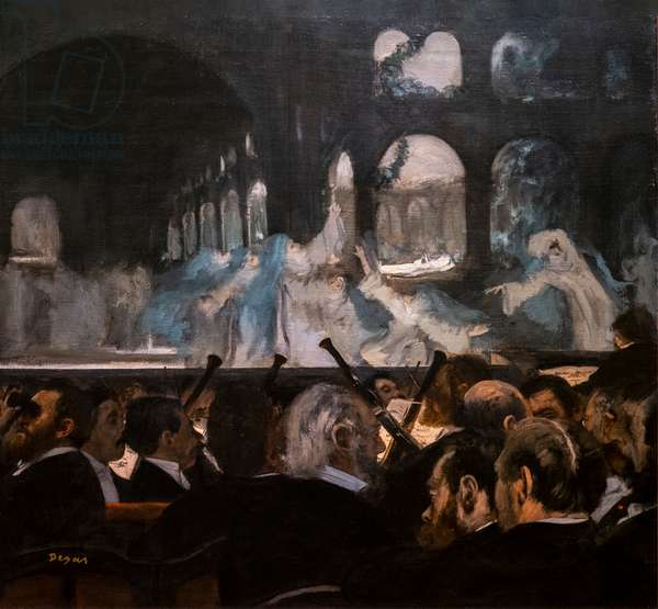 Ballet of Robert the Devil. 1876. Oil on canvas.