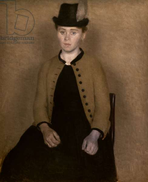 Portrait of Ida Ilsted, 1890 (oil on canvas)
