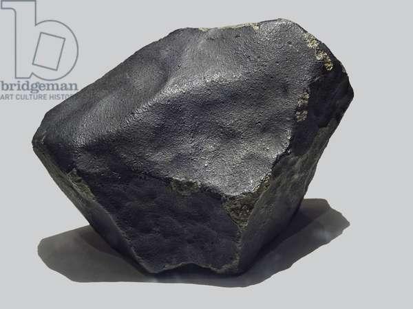 Ordinary chondrite (H4). Tombee in Sylacauga (Alabama, USA) in 1954. Alabama Museum of Natural History, United States.