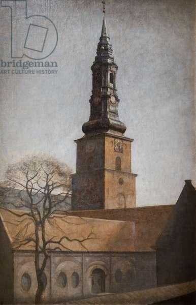 St. Peter's Church, Copenhagen, 1906 (oil on canvas)
