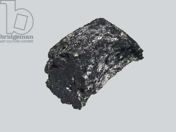 Carbon chondrite (Cl1). He fell in France, at Prigueil (near Montauban) in 1864. Carbon chondrite (CM). Found in France in Paris in 2001. Museum National Histoire Naturelle de Paris.