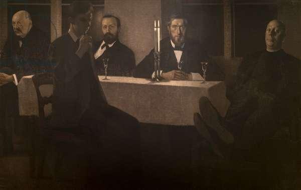 Five portraits, 1901-02 (oil on canvas)