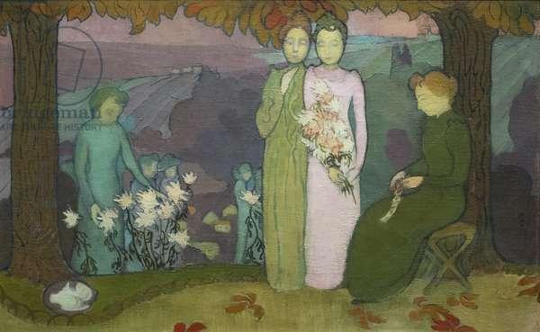 Evening of October, 1891