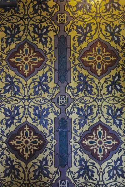 Wall motifs - Apartments of King Henry III (1551-1589) Chateau de Blois Loir-et-Cher