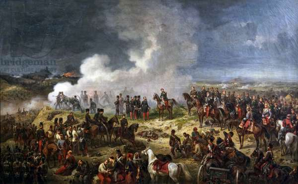 The Battle of Solferino, 24 June 1859, 1861 (oil on canvas)