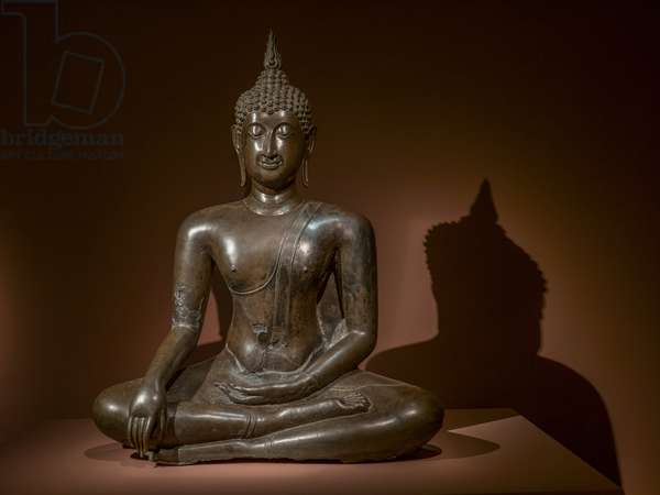 Maravijaya Buddha. Thailand. Second half of the 15th. Carving