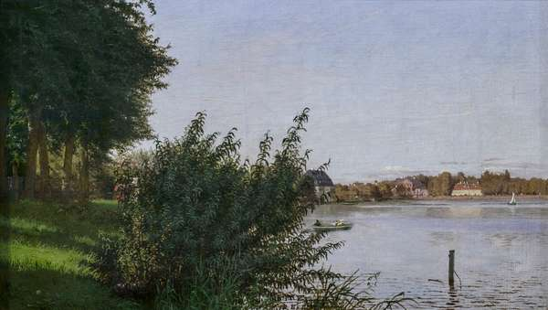 Dosseringen seen towards Osterbro, 1836 (oil on canvas)