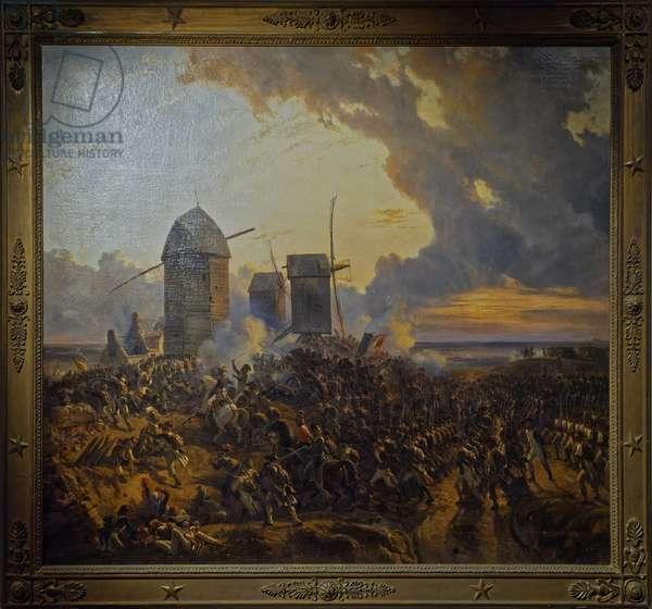 Battle of Mouscron (Belgium), 29 April 1794, 1839 (oil on canvas)