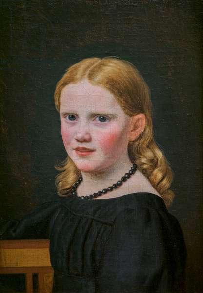 Julie Eckersberg, née Juel, the Artist's Second Wife, 1817 (oil on canvas)