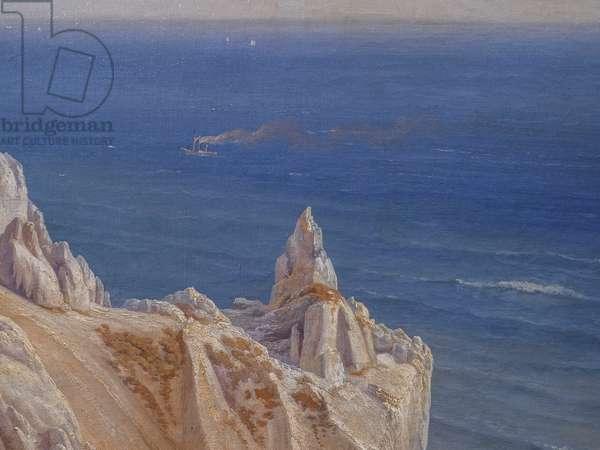 The Cliffs of Møns Klint, 1842 (oil on canvas)