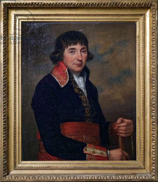 General Augustine de Lespinasse, 1798 (oil on canvas)
