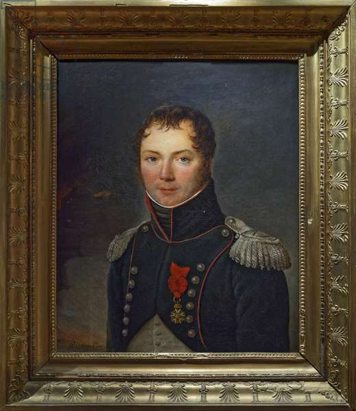 Baron Jacquinot, 1806-09 (oil on canvas)