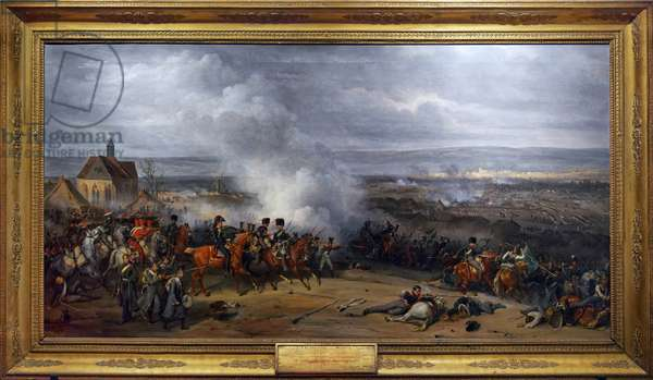 Battle of Laubressel, 3 March 1814, c.1870 (oil on canvas)