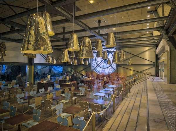 The Orsay Museum. Paris. France - La salle du cafe Campana - Musee d'Orsay, Paris - Photography 2017