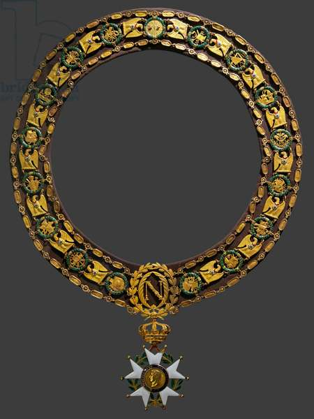 Large necklace of the Order of the Legion of Honor, circa 1807