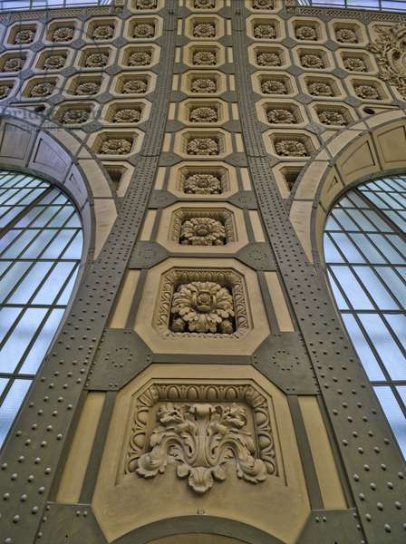 The Orsay Museum. Paris. France - Detail of macarons decor - Musee d'Orsay, Paris - Photography 2017