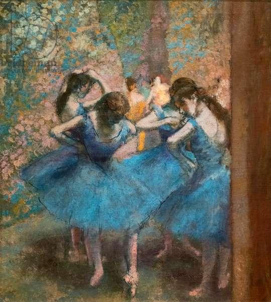 Blue dancers. Around 1893-96. Oil on canvas.