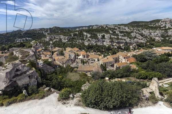 Landscape around Les Baux de Provence (Les-Baux-de-Provence) Bouches du Rhone (Bouches-du-Rhone) Photography