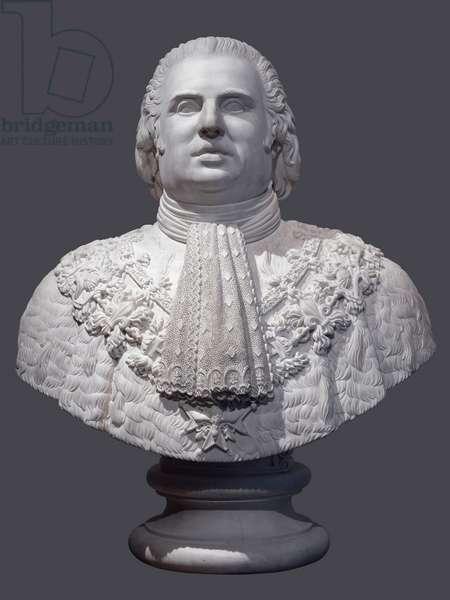 Louis XVIII, 1818 (marble)