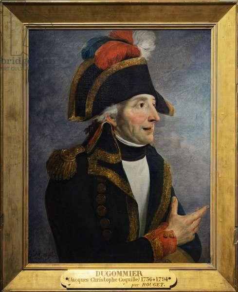 Portrait of Jacques Francois Coquille dit Dugommier