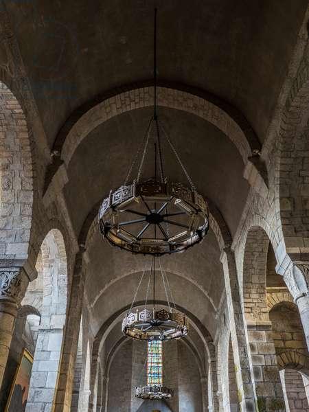 Romanesque Collegiate Church of Saint-Léonard de Noblat, France, 2017 (photo)