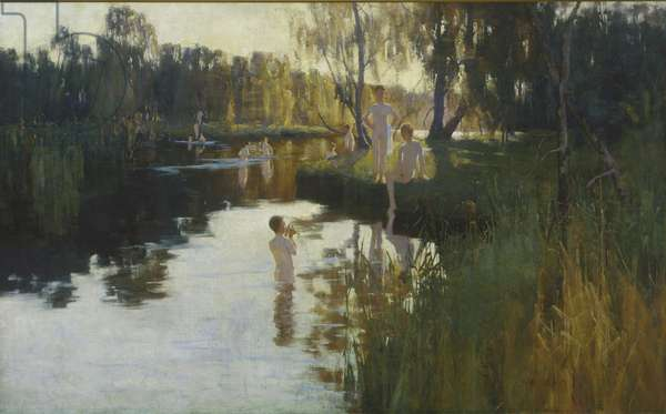 By Tranquil Waters, 1894 (oil on canvas)