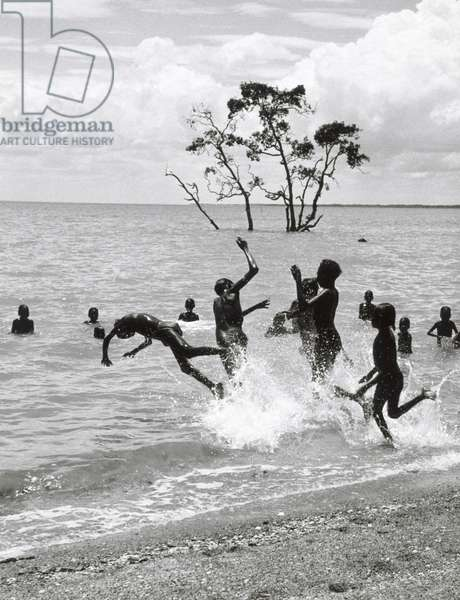 The Swimmers, Milingimbi, Arnhem Land, 1952, printed 1983 (gelatin silver photo)