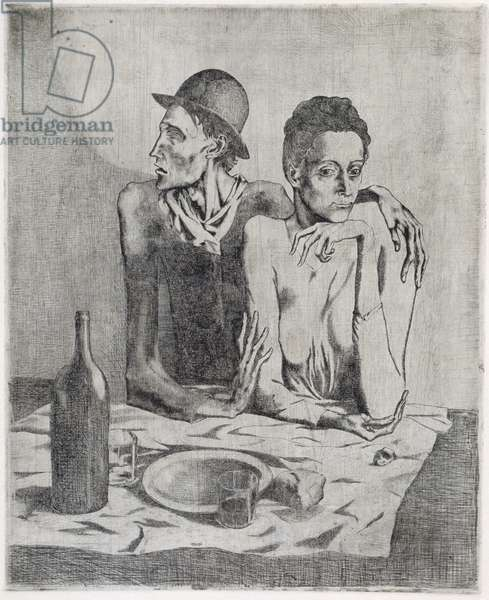 The Frugal Repast, 1904 (etching)