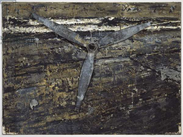 Belief, Hope, Love, 1984-86 (mixed media)