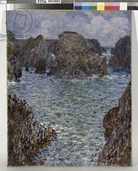 Port-Goulphar, Belle-Ile, 1887 (oil on canvas)
