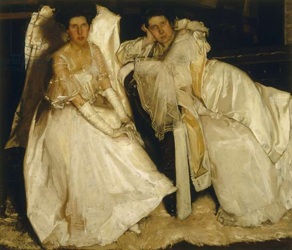 The Sisters, 1904 (oil on canvas)
