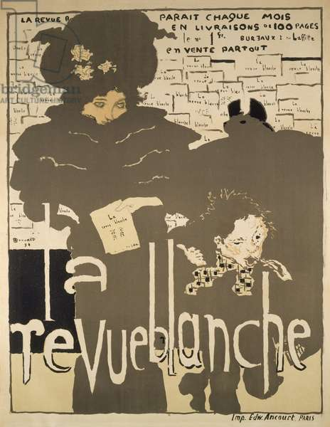 Poster for 'La Revue Blanche', 1894 (colour litho)