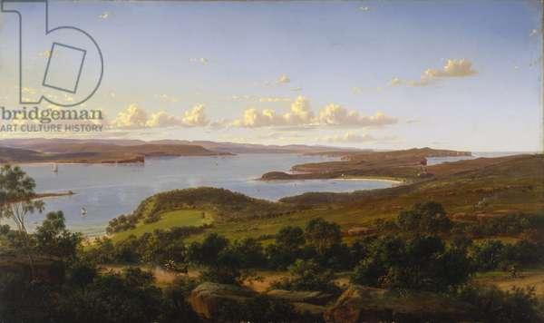 Sydney Heads, 1865 (oil on canvas)
