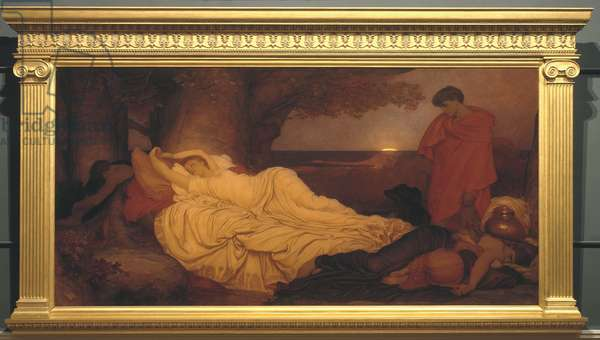 Cymon and Iphigenia, 1884 (oil on canvas)