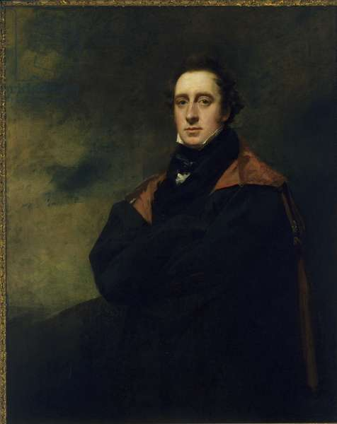 Andrew Spottiswoode (1787-1866) (oil on canvas)