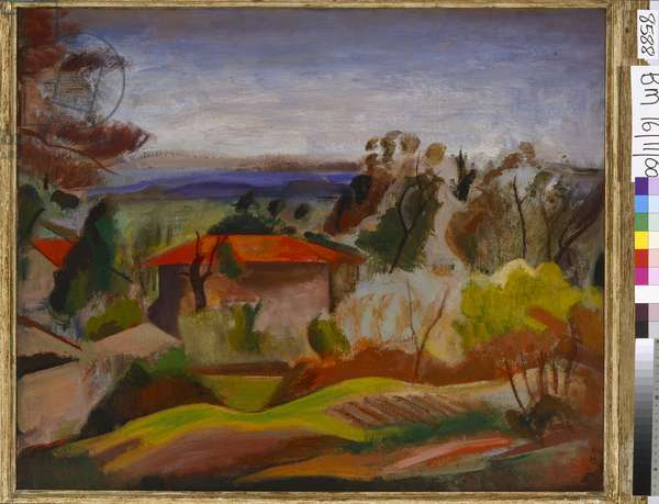 Near Cagnes (oil on canvas)