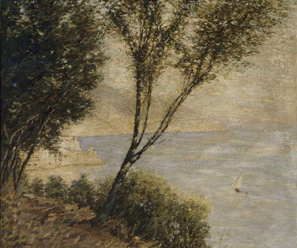 Italian Coast, c.1920 (oil on canvas)