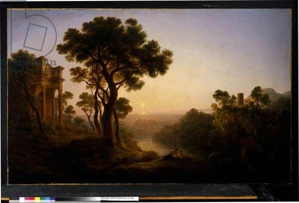 Classical Landscape, c.1820 (oil on canvas)