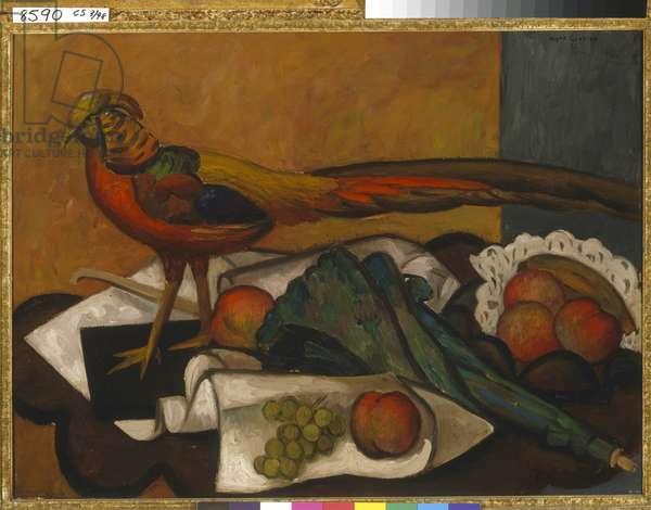 Golden Pheasant, 1932 (oil on canvas)