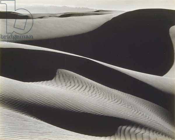 Dunes, Oceano, 1936 (gelatin silver photograph)
